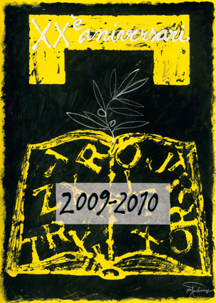 Cartell inaugural del curs 2009-2010