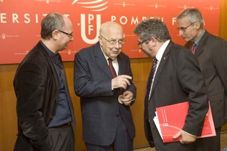 Joaquim Albareda, Jordi Nadal, Josep Joan Moreso i Jaume Torras.
