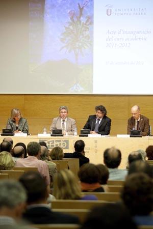 D'esquerra a dreta: Núria Basi, Josep Joan Moreso, Antoni Castellà i Josep Fargas