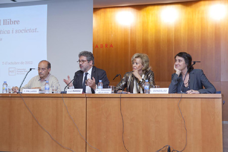 Francesc Pallarès, Josep Joan Moreso, T. Fdez de la Vega i Itziar González Virós