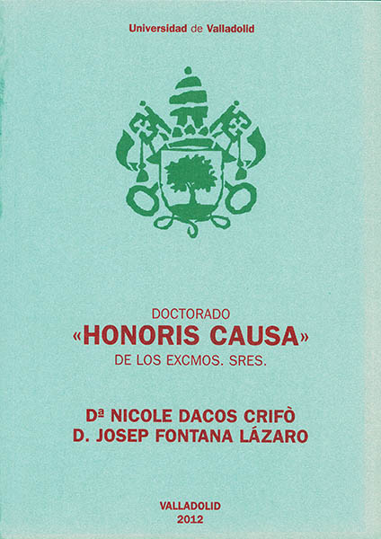 Doctorado Honoris Causa Universidad de Valladolid