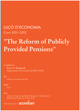 The reform of publicly provided pensions