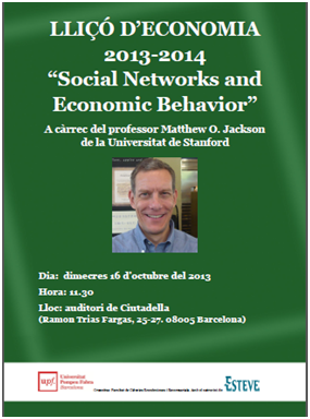 Social Networks and Economic Behavior
