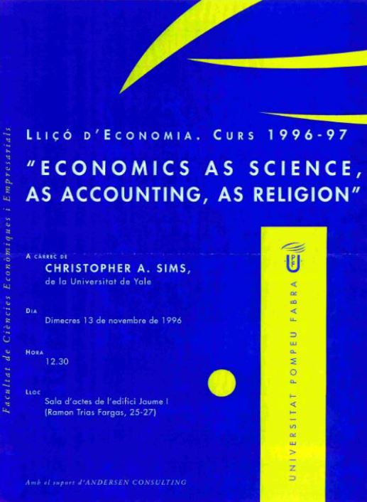 Economics as Science, as Accounting, as Religion