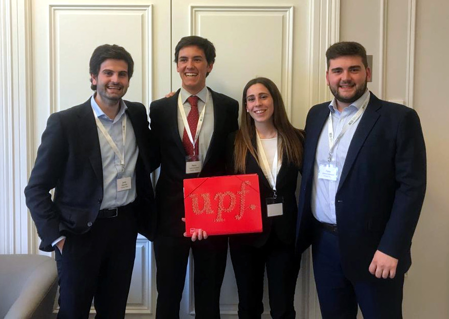 UPF student team at the Madrid Case Competition