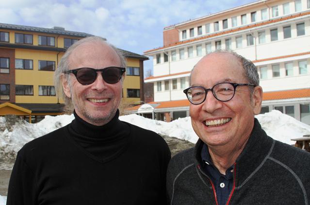 Prof. Korneliussen and Prof. Greenacre