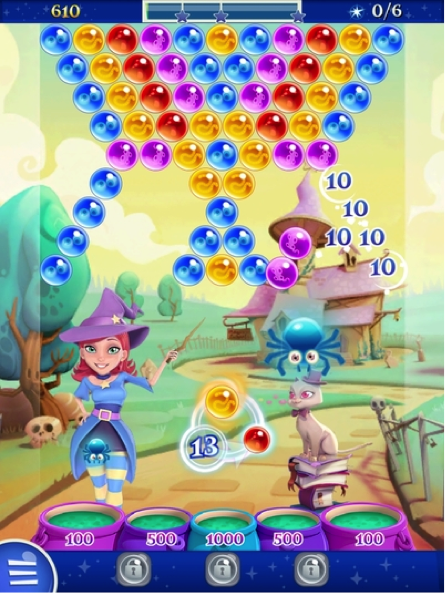 Descripción: Resultat d'imatges de Bubble Witch Saga 2.